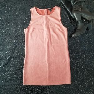 Forever 21 soft velvet corral dress